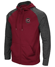 Colosseum Men's South Carolina Gamecocks Magic Rays Full-Zip Hooded Sweatshirt