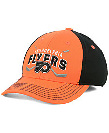 Outerstuff Boys' Philadelphia Flyers Faceoff Flex Stretch Fitted Cap