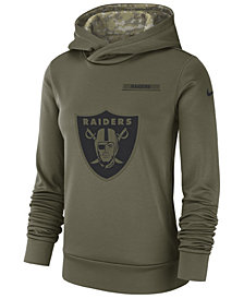 Nike Women's Oakland Raiders Salute To Service Therma Hoodie