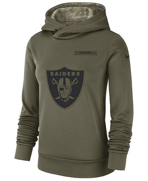 ... Nike Women s Oakland Raiders Salute To Service Therma Hoodie ... f43e05cf3