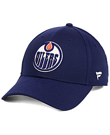 Authentic NHL Headwear Edmonton Oilers Fan Basic Adjustable Cap