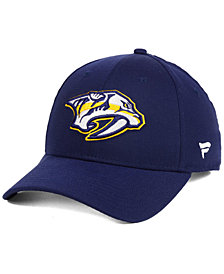Authentic NHL Headwear Nashville Predators Fan Basic Adjustable Cap