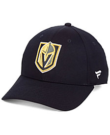 Authentic NHL Headwear Vegas Golden Knights Fan Basic Adjustable Cap