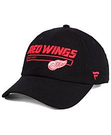 Authentic NHL Headwear Detroit Red Wings Rinkside Fundamental Adjustable Cap