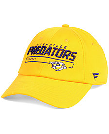 Authentic NHL Headwear Nashville Predators Rinkside Fundamental Adjustable Cap