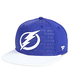 Authentic NHL Headwear Tampa Bay Lightning Rinkside Snapback Cap