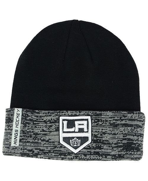 Authentic NHL Headwear Los Angeles Kings Pro Rinkside Cuffed Knit Hat