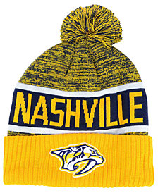 Authentic NHL Headwear Nashville Predators Goalie Knit Hat