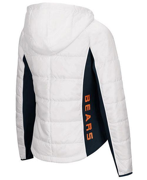 G III Sports Women's Chicago Bears Defense Polyfill Jacket & Reviews