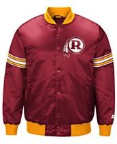 G-III Sports Men s Washington Redskins Draft Pick Starter Satin Jacket dcd790ba0