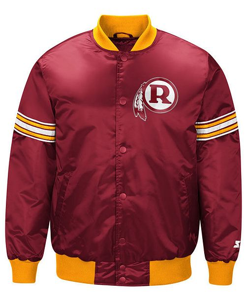 newest 6dfa5 2991b G-III Sports Men's Washington Redskins Draft Pick Starter ...