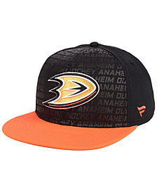 Authentic NHL Headwear Anaheim Ducks Rinkside Snapback Cap