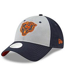 New Era Women's Chicago Bears Gray Glitter 9TWENTY Cap