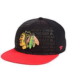 Authentic NHL Headwear Chicago Blackhawks Rinkside Snapback Cap