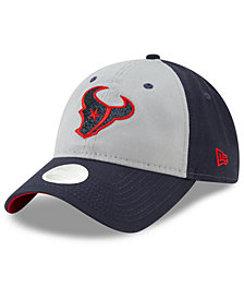 New Era Women's Houston Texans Gray Glitter 9TWENTY Cap