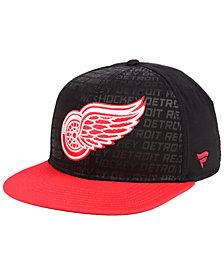 Authentic NHL Headwear Detroit Red Wings Rinkside Snapback Cap