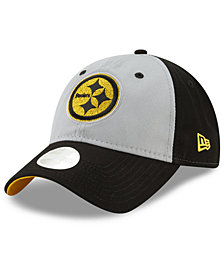 New Era Women's Pittsburgh Steelers Gray Glitter 9TWENTY Cap