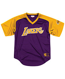 Mitchell & Ness Men's Los Angeles Lakers Final Seconds Mesh V-Neck Jersey