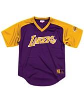 Mitchell   Ness Men s Los Angeles Lakers Final Seconds Mesh V-Neck Jersey da213bb45
