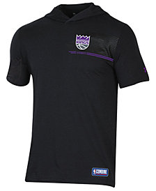 Under Armour Men's Sacramento Kings Baseline Short Sleeve Hooded T-Shirt