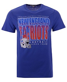 Authentic NFL Apparel Men's New England Patriot Glory Days Retro T-Shirt