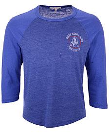 Authentic NFL Apparel Men's New England Patriots End Around Three-Quarter Raglan T-Shirt