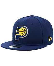 Indiana Pacers Basic 9FIFTY Snapback Cap