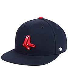 Boys' Boston Red Sox Basic Snapback Cap