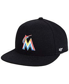 '47 Brand Boys' Miami Marlins Basic Snapback Cap