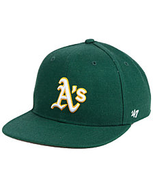 '47 Brand Boys' Oakland Athletics Basic Snapback Cap