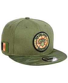 New Era New York Knicks Tip Off 9FIFTY Snapback Cap