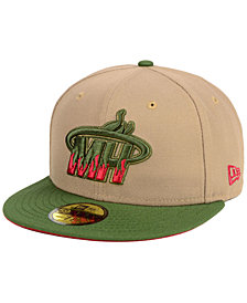 New Era Miami Heat Fall 2 Tone Combo 59FIFTY-FITTED Cap