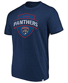 Majestic Men's Florida Panthers Flex Classic Tri-Blend T-Shirt
