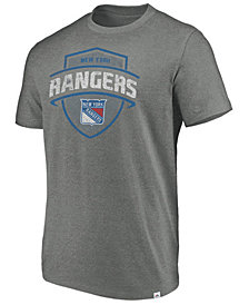 Majestic Men's New York Rangers Flex Classic Tri-Blend T-Shirt