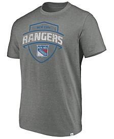 Majestic Men's New York Rangers Flex Classic Tri-Blend T-Shirt
