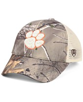 huge selection of a74fe 436cd Top of the World Clemson Tigers Prey Meshback Camo Snapback Cap