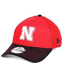 New Era Nebraska Cornhuskers 2 Tone Neo 39THIRTY Fitted Cap