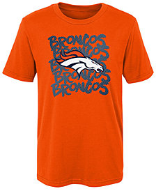 Outerstuff Denver Broncos Graph Repeat T-Shirt, Little Boys (4-7)
