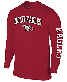 Men's North Carolina Central University Eagles Midsize Slogan Long Sleeve T-Shirt