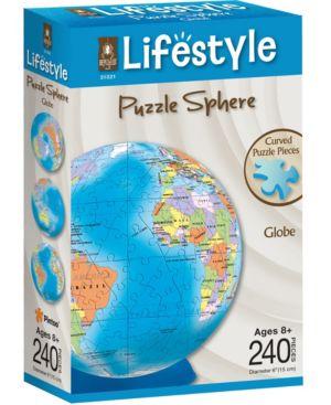 Lifestyle 3D Puzzle Sphere - Globe: 240 Pcs 7263435