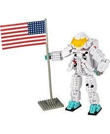 3D Pixel Puzzle Deluxe - Astronaut