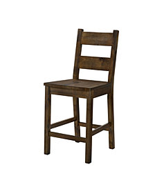 Belton II Rustic Counter Height Dining Chair
