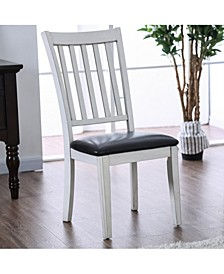 Pierson I Two-Tone Slatted Dining Chair