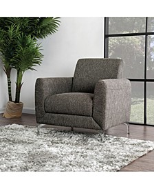 Calla Contemporary Linen Accent Chair