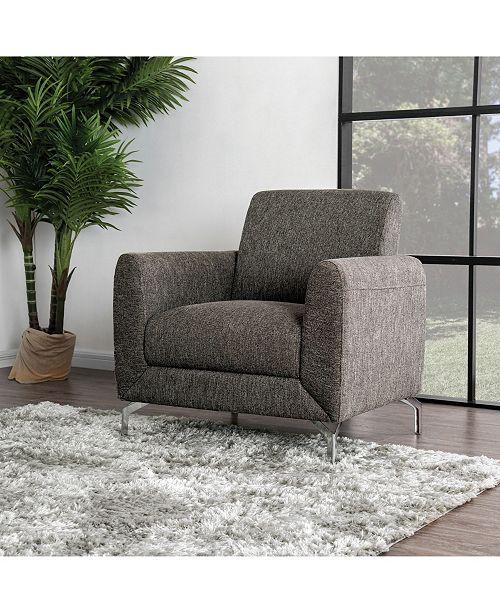 Miraculous Calla Contemporary Linen Accent Chair Short Links Chair Design For Home Short Linksinfo