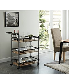 Byson 3-Tiered Mobile Serving Cart