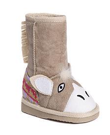 Muk Luk Kid's Bonnie Pink Bunny Boots