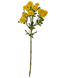 """Nearly Natural 17"""" Japanese Flower Artificial Flower, Set of 8"""