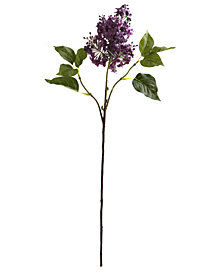 """Nearly Natural 30"""" Lilac Artificial Flower, Set of 6"""