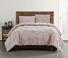 Truly Soft Everyday Pleated Velvet Twin/Twin XL Comforter Set